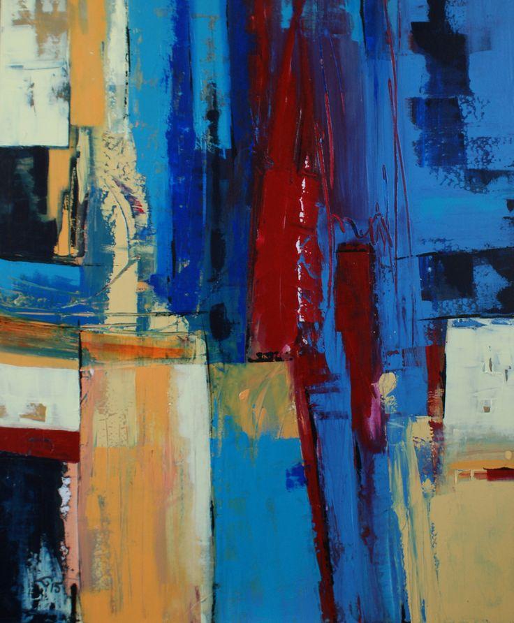 30 best Abstract schilderen Loes Knoben van Herwaarden images on ...