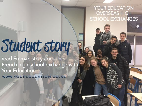 Read Emma's story about her high school exchange overseas.