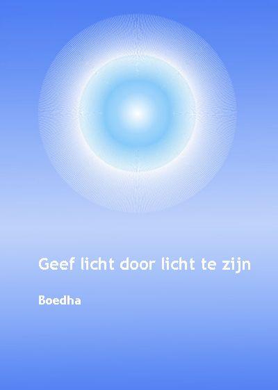 Boedha   Geef licht