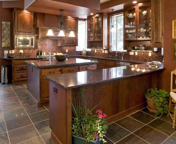 Elegant Granite Countertop Kitchens : Best images about custom granite tops on pinterest