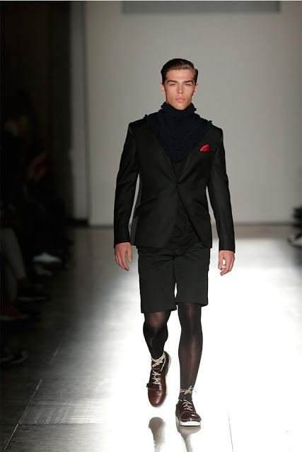 Hosiery For Men: Nuno Gama's Fall/Winter 2015/16 collection Part 1