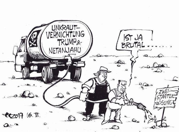 Karikaturen Februar 2017 - Karikaturen-Galerie - Rhein-Zeitung