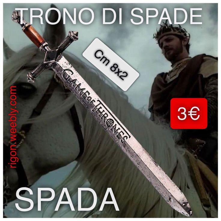 SPADA SERIE TV IL TRONO DO SPADE GAME OF THRONES NOVITA 3€