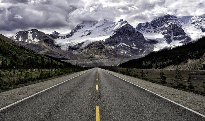 Колумбийские ледяные поля, Альберта, Канада