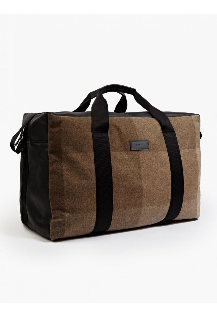 Abstract Harlequin Checked Holdall