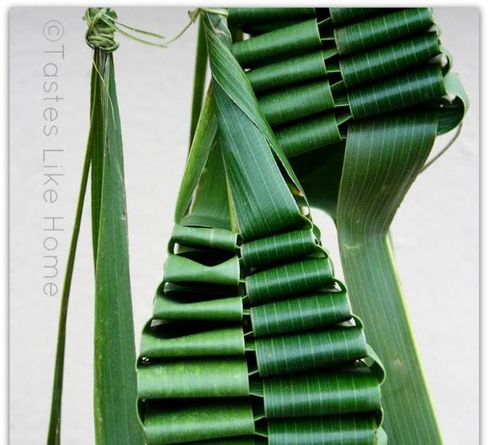 Want to make this?        My sister and I learnt how to make these woven lantern palms when we were teenagers. The older women at church tau...
