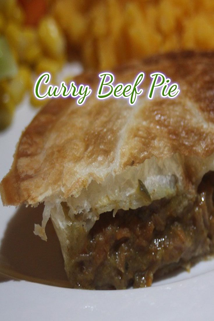 Curry Beef Pie is one of our favourite go-to-meals.