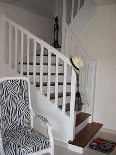 Escaliers avant et après