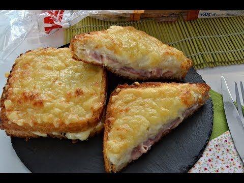 Sándwich Croque Monsieur | Cocina