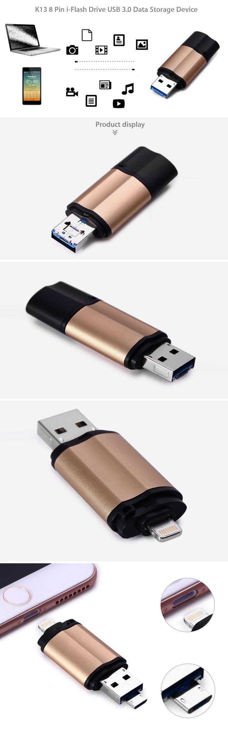 Ook regelmatig te weinig opslagruimte op jouw iPhone, iPad of Android toestel? Of geen ruimte om die film of serie erop te zetten? Met deze gadgets vergroot je simpel de opslagcapaciteit met 64GB! Genoeg voor een hele serie of een paar mooie films (of heel veel muziek). Deze USB stick heeft een iPhone / iPad aansluiting, MicroUSB voor Android en USB 3.0 voor de PC! Nu tijdelijk voor €25!  http://gadgetsfromchina.nl/64gb-extra-opslag-voor-iphone-ipad-android/  #Gadgets #Gadget…