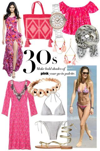 What to wear on the beach this summer, at EVERY age: