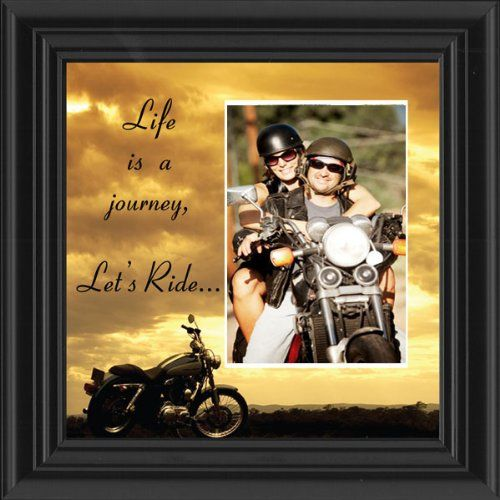 Motorcycle, Harley Davidson, Picture Frame, Let's Ride Sky  http://bikeraa.com/motorcycle-harley-davidson-picture-frame-lets-ride-sky-6503lrsky-personalized/