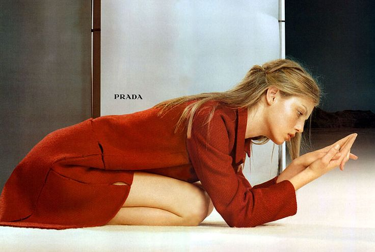 Angela Lindvall for Prada RTW A/W 1998.    Found on 2.bp.blogspot.com via Tumblr