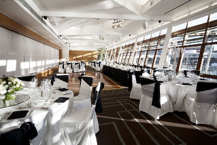 Situated on the rooftop of the Cockle Bay Wharf complex and only moments walk to the CBD, L'Aqua is Sydney's most prestigious five-star function venue for intimate events.  http://laqua.com.au