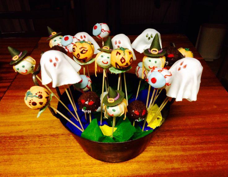 Halloween's cake pops