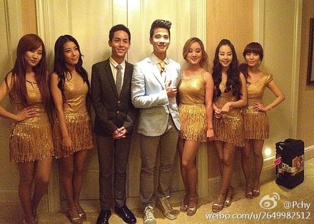 Pchy,Mario,and Wonder Girl #wondergirls #pchy #ohohmario #mariomaurer