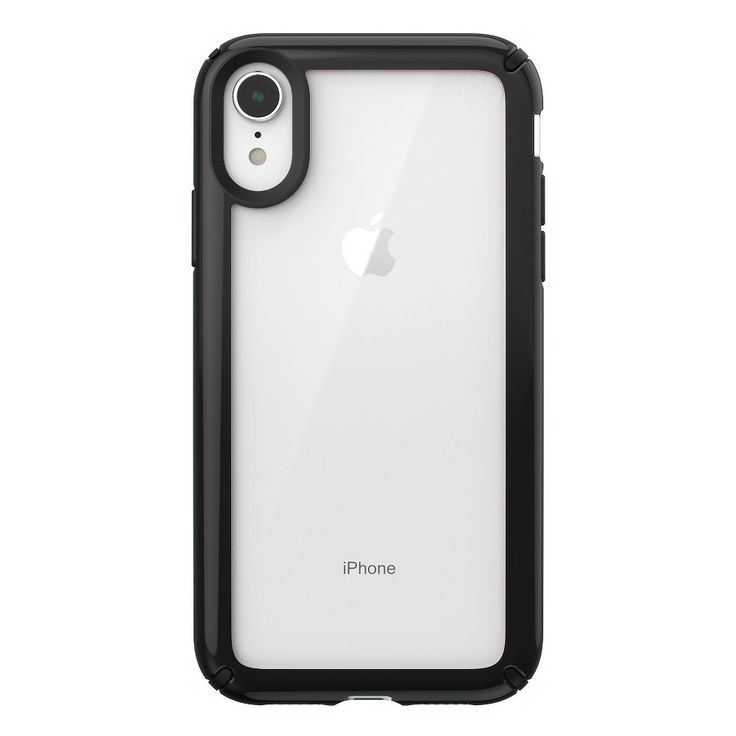 Speck Apple iPhone XR Presidio Case Clear/Black Iphone