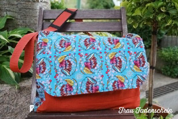 Wickeltasche/Messengerbag (Schnitt von den elberbsen)