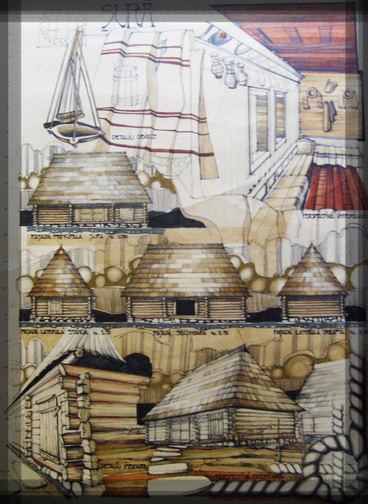 Desene, Gospodarie arhaica | Simona Cercel & Ionut Diaconu