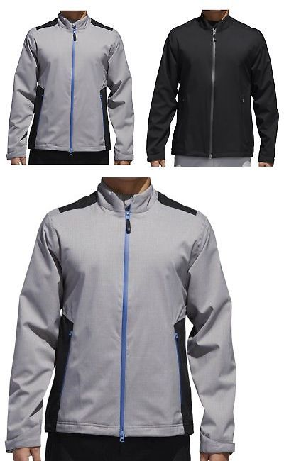 d65d3d1b2e9e Coats and Jackets 181134  Adidas Climaproof Heathered Rain Jacket Mens -  New 2018 - Pick Size And Color! -  BUY IT NOW ONLY   94.99 on  eBay  coats   jackets ...