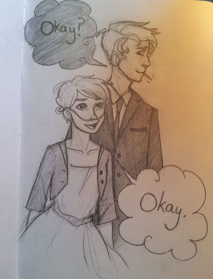 Okay. by Punkn13.deviantart.com on @deviantART > I love the Fault in Our Stars, and I really felt these characters, so I decided to draw them on their date. :)
