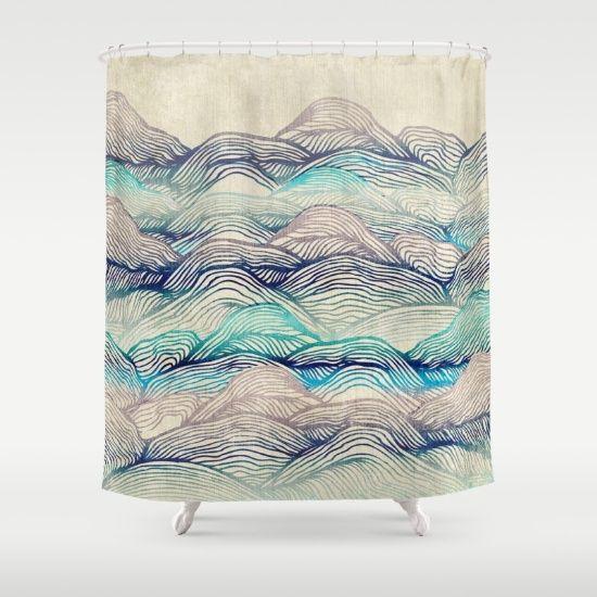 Enrabada, comeu asian style shower curtain CUTE Looking