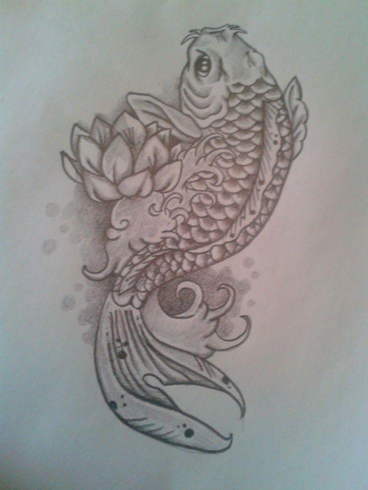 dise o pez koi tattos pinterest pez koi koi y arte