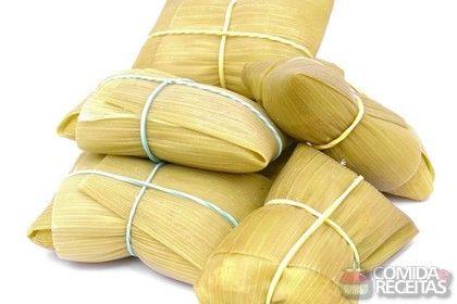Receita de Pamonha tradicional em receitas de doces e sobremesas, veja essa e outras receitas aqui!