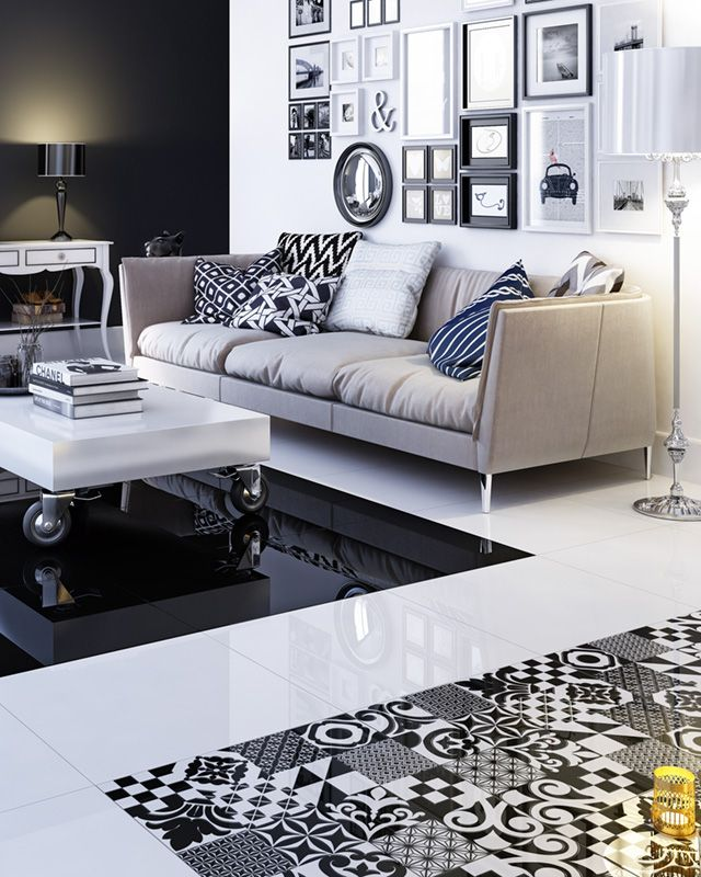 Parisian look for your home with Opp! floor tiles and Morocco decoration. http://ceramstic.com/pl/opp/