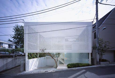 Shutter House for a Photographer   Tokyo, Japan   Shigeru Ban Architects