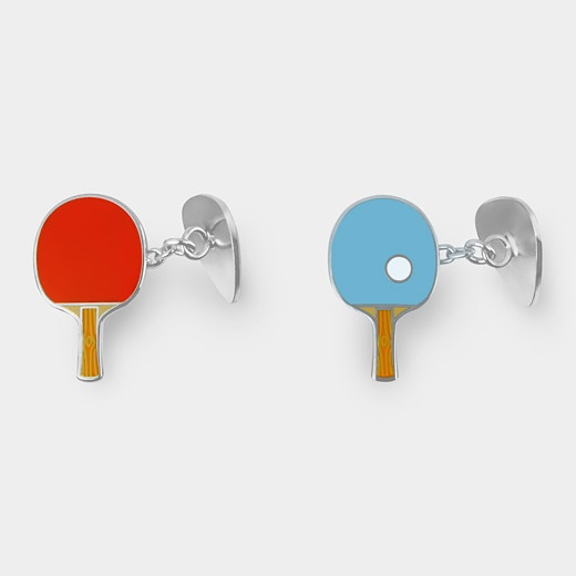 95091_A2_Cufflinks_Ping_Pong_Red_Blue