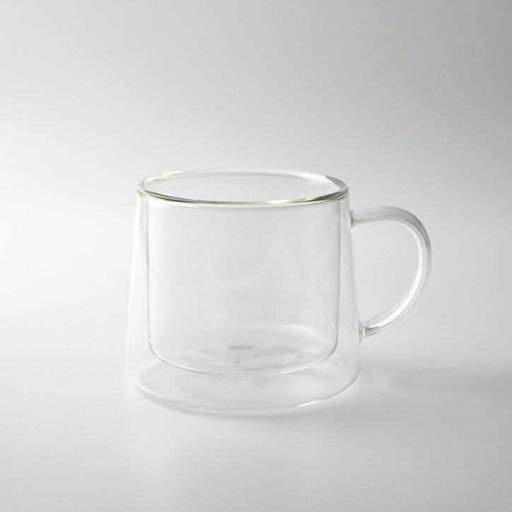 耐熱・保温・保冷に優れた二層構造ガラスのマグカップ。CLASKA クラスカ DO ドーのグラスマグ ダブルウォール 250ml 【 ガラス マグカップ 二層構造 耐熱ガラス 保温 保冷 ギフト プレゼント 】【楽ギフ_包装】【あす楽対応】