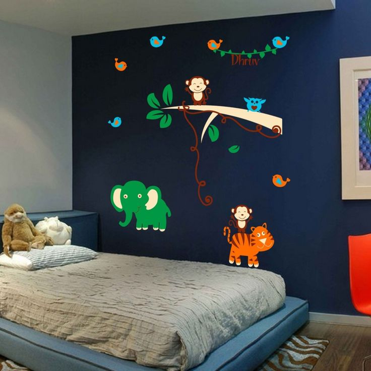 Let your child's imagination run 'wild' with this wall decal from the Maker's Market.