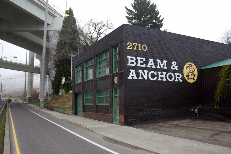 Beam & Anchor / Logo Design, Exterior Graphics & Signage / The Official Manufacturing Company