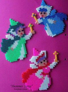 Disney Cinderella's fairies cross stitch.