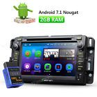 """﹩305.20. OBD2 7""""Android 7.1 Car DVD GPS for Chevrolet GMC 2DIN 2GB RAM Nougat In Dash   Type - Car DVD Player, Car DVD GPS, CD Player, MP3 Player, Screen Size - 7"""" High Definition Digital Capacitive Touch Screen, Features - GSP Navigation, Color - Black, WIFI/3G - Support(3G need to buy dongle extra), CPU - RK3188 1.6GHz Cortex A9, Compatible with dashcams - Support(Only for EONON R0008 USB dashcam), DAB+ Input - Yes(Need to buy EONON V0054 extra), Bluetooth - Support hands free"""