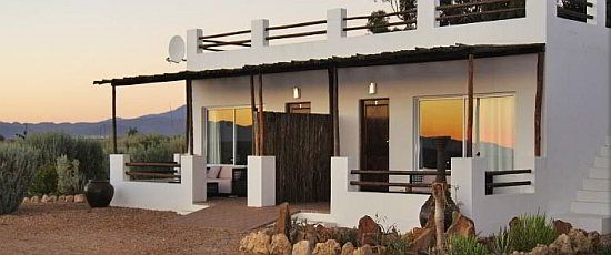 Stay in a luxury chalet at Inverdoorn Reserve Cape Town