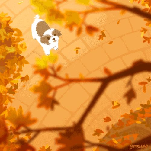 Happy Autumn - By OLIVIA HUYNH - I absolutely love this and her work! :D It's sooo cute and funny XD