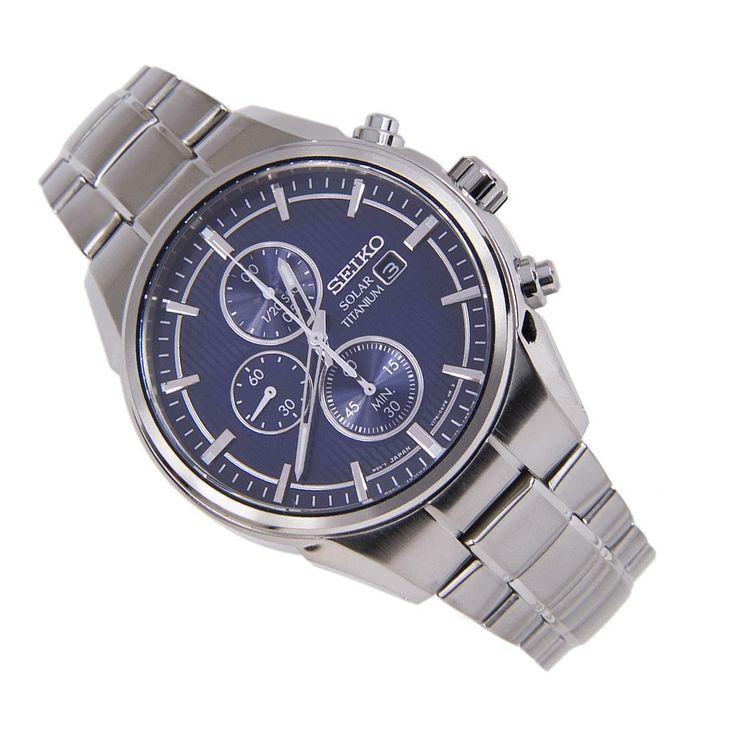 Sports Watch Store - Seiko Chrono Solar Powered WR100m Titanium Date Deployment Clasp Gents Watch SSC365P1 SSC365P, $202.00 (http://www.sports-watch-store.com/seiko-chrono-solar-powered-wr100m-titanium-date-deployment-clasp-gents-watch-ssc365p1-ssc365p/)