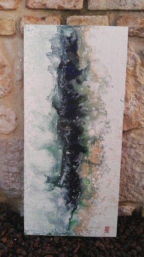 Astratto fluido n.15 #abstract #art #fluid #paint #splash #acrylic