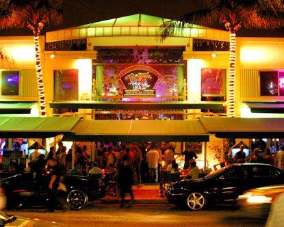 Mango's Tropical Cafe in South Beach Miami...fun, fun,fun!!!