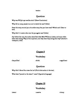 Printables Stone Fox Worksheets 1000 images about stone fox on pinterest novel unit tied to common core blooms