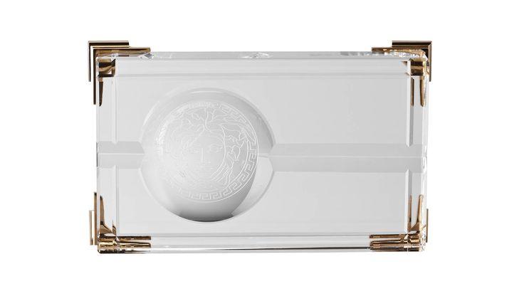Versace, Medusa Prisma Cigar Ashtray, Buy Online at LuxDeco