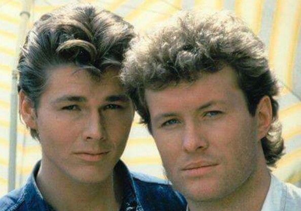 "What type are they? Morten Harket and Mags Furuholmen from the Norwegian band ""a-ha"" which in the 80s Nr. 1 in the Bilboard charts with ""Take On Me"" and the breaking Cartoon video. They had a Comeback in 2015 with their ""Cast In Steel"" album which i so great, greatest band since 1985"