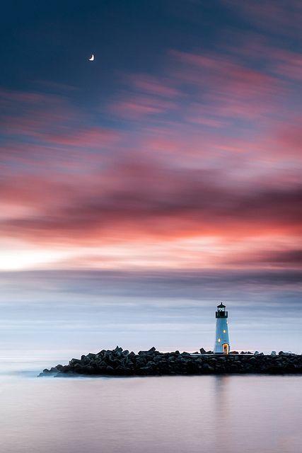 Walton Lighthouse at the Santa Cruz Harbor