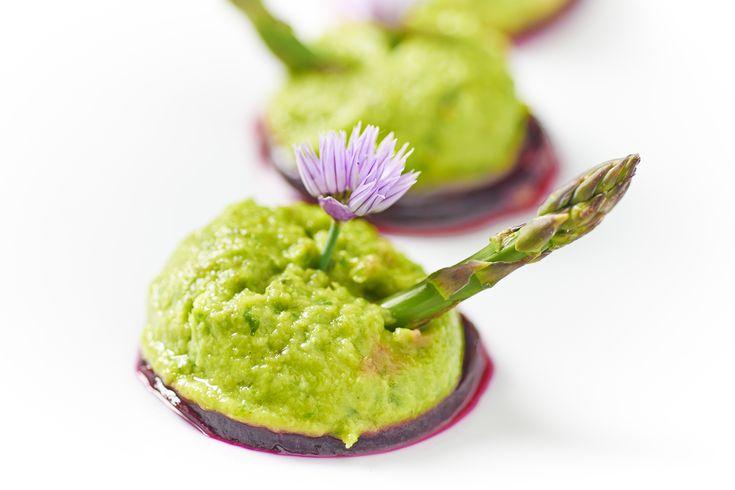 sformato di asparagi crudista