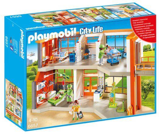 Playmobil - 6657 - Hopital pédiatrique aménagé