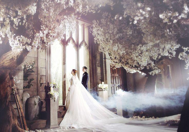 Korean Studio Pre-Wedding Photography: 2016 Romantic Vintage Collection  by Bong Studio on OneThreeOneFour 0