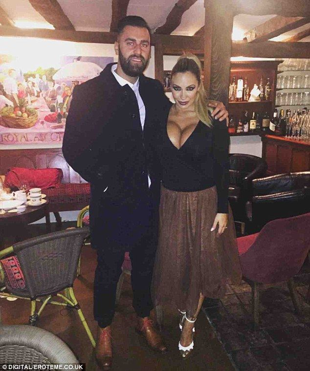 Legal woes? Jodie Marsh has claimed she was arrested and charged with harassment following a bitter dispute with her estranged husband James Placido