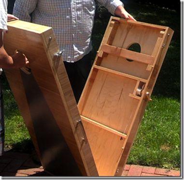 Over Engineered But Awesome Cornhole Board Set